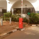 Nigeria-Police-Force-Headquarters-Abuja-Automatic-Stainless-Steel-Bollards-Under-Vehicle-Scanning-System-Undergoing-Maintenance