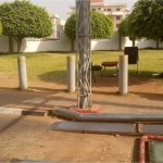 Nigeria-Police-Force-Headquarters-Abuja-Automatic-Stainless-Steel-Bollards-Under-Vehicle-Scanning-System-Undergoing-Maintenance-2-1