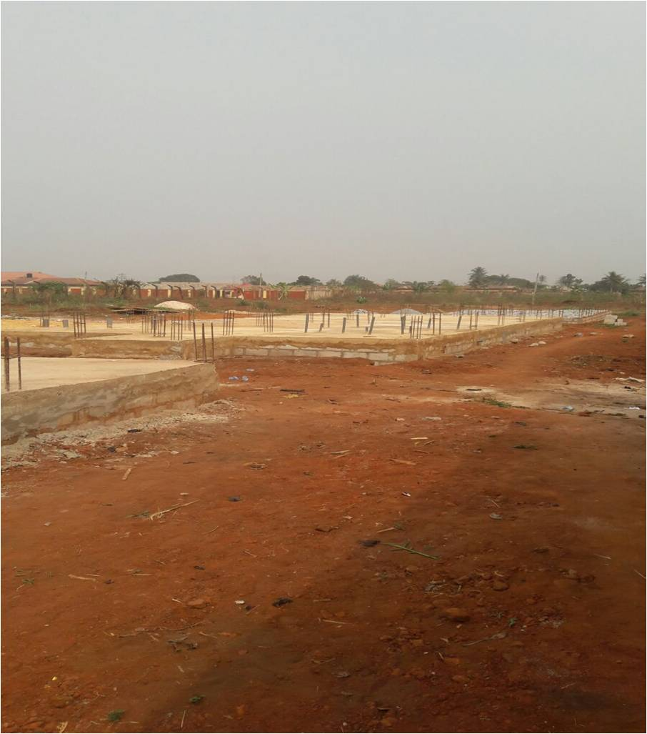 Investigation Report (IVR): CONSTRUCTION OF 1NR 3-BEDROOM INSPECTOR'S QTRS (BUNGALOW) AT ERUWA POLICE COMMAND, IBARAPA EAST LGA, OYO STATE.: LotNo F190047; 2019
