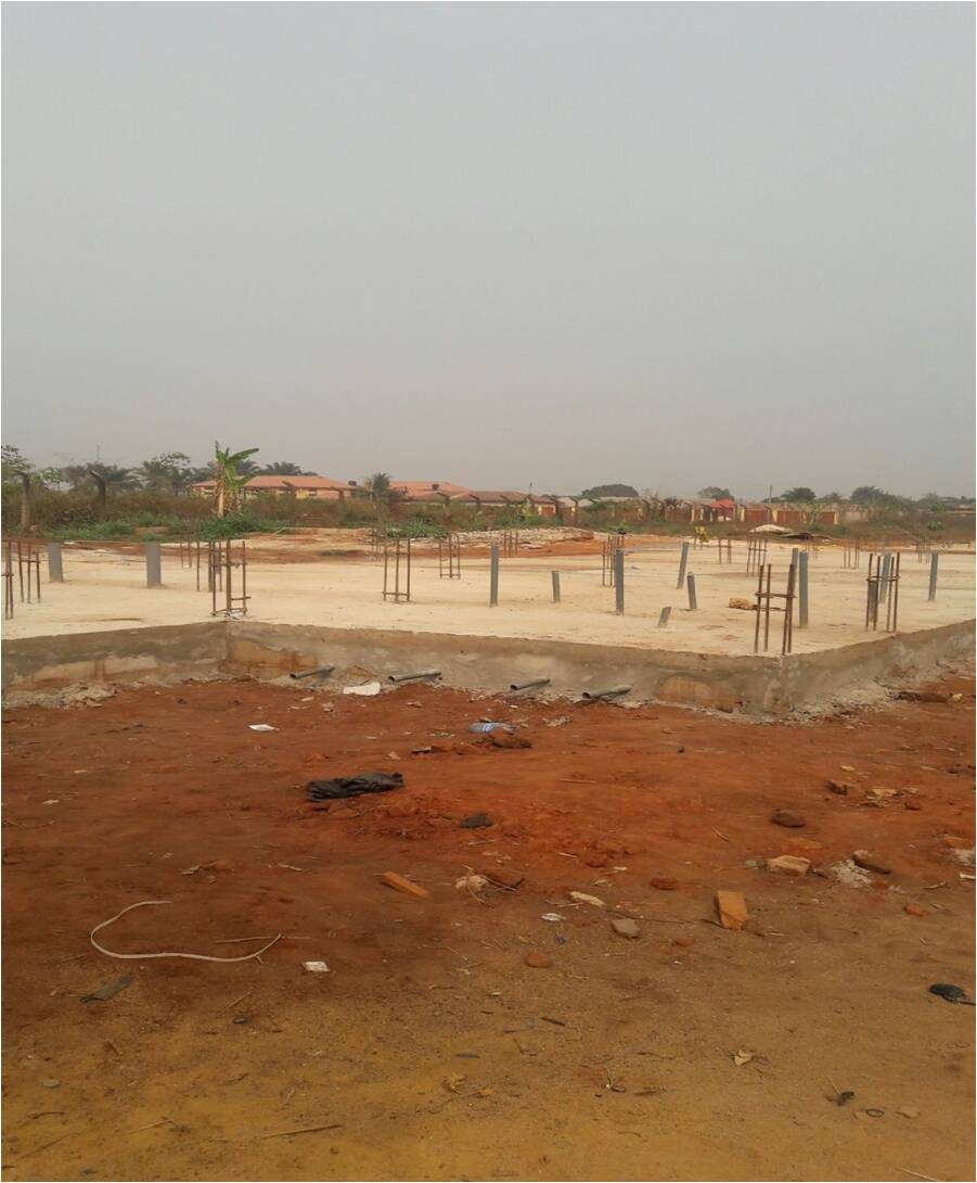 Site Report (STR): RE-CONSTRUCTION OF MARINE POLICE OUT-POST (ABUJA TYPEIII) MODIFIED WITH CONCRETE FACIA AT OGBIA, BAYELSA STATE.: LotNo F180138; 2018