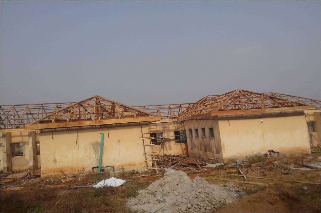 Site Report (STR): site report of rehabilitation of police station at isiokpo in rivers state: LotNo LOTF242; 2005