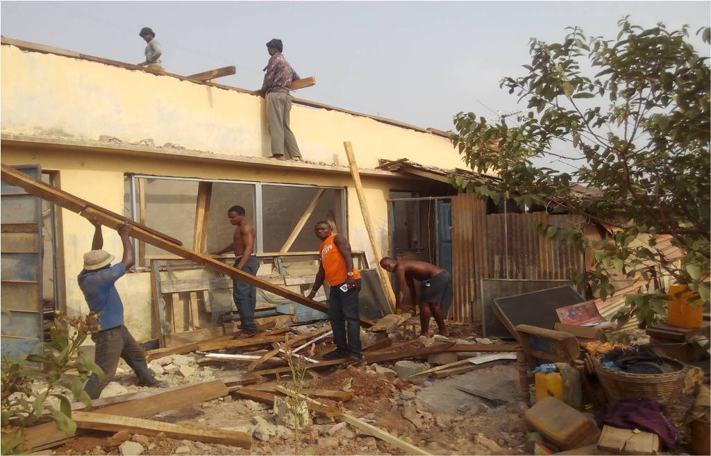 Incident Report (INR): CONSTRUCTION OF 1NR 3-BEDROOM INSPECTOR'S QTRS (BUNGALOW) AT ERUWA POLICE COMMAND, IBARAPA EAST LGA, OYO STATE.: LotNo F190047; 2019