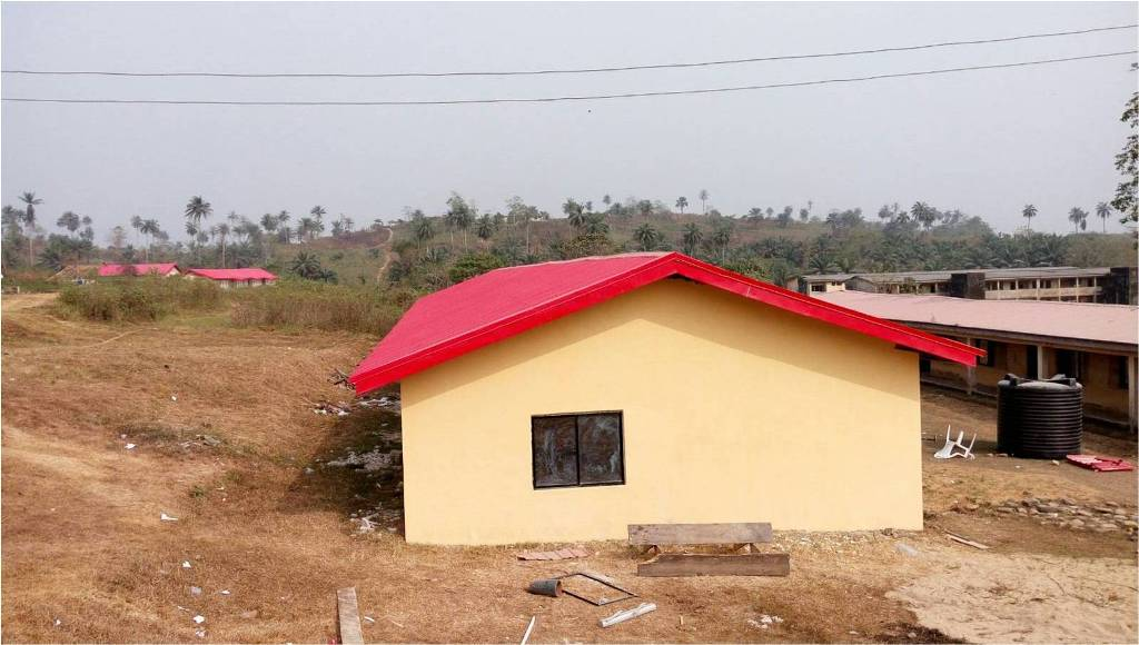 Completion Report (CPR): CONSTRUCTION OF 1NR 3-BEDROOM INSPECTOR'S QTRS (BUNGALOW) AT ERUWA POLICE COMMAND, IBARAPA EAST LGA, OYO STATE.: LotNo F190047; 2019